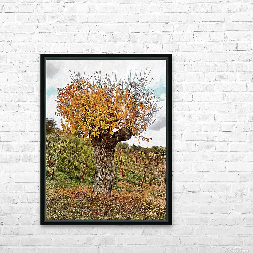 The Autumn Guardian HD Sublimation Metal print with Decorating Float Frame (BOX)