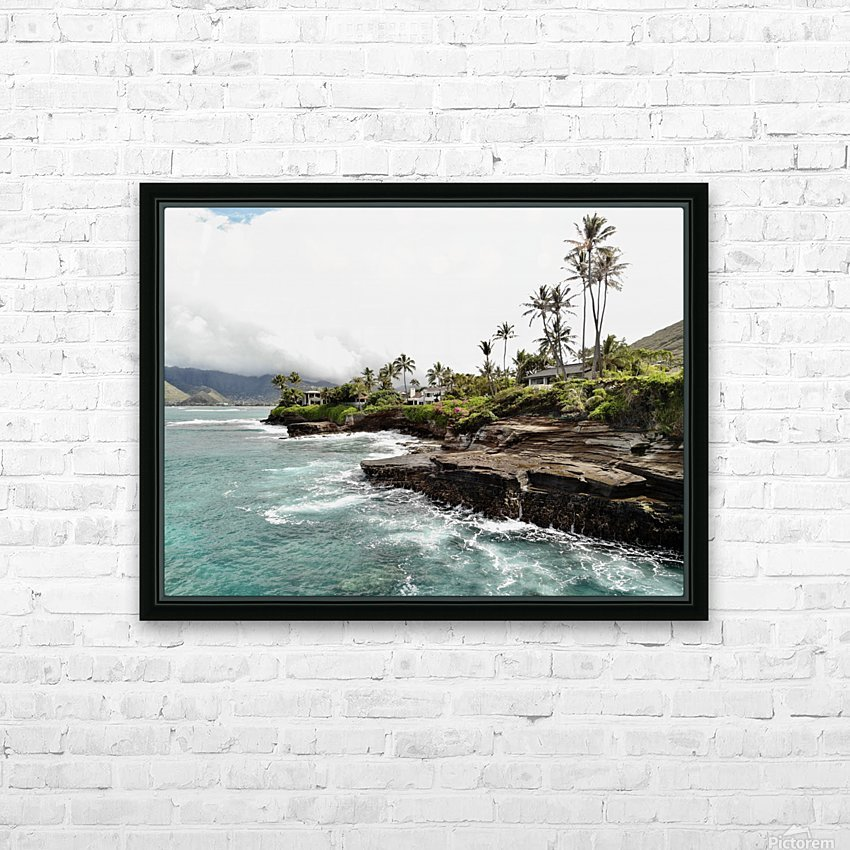 China walls HD Sublimation Metal print with Decorating Float Frame (BOX)