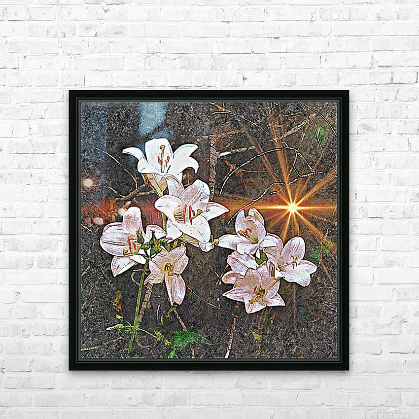 Remember Me HD Sublimation Metal print with Decorating Float Frame (BOX)