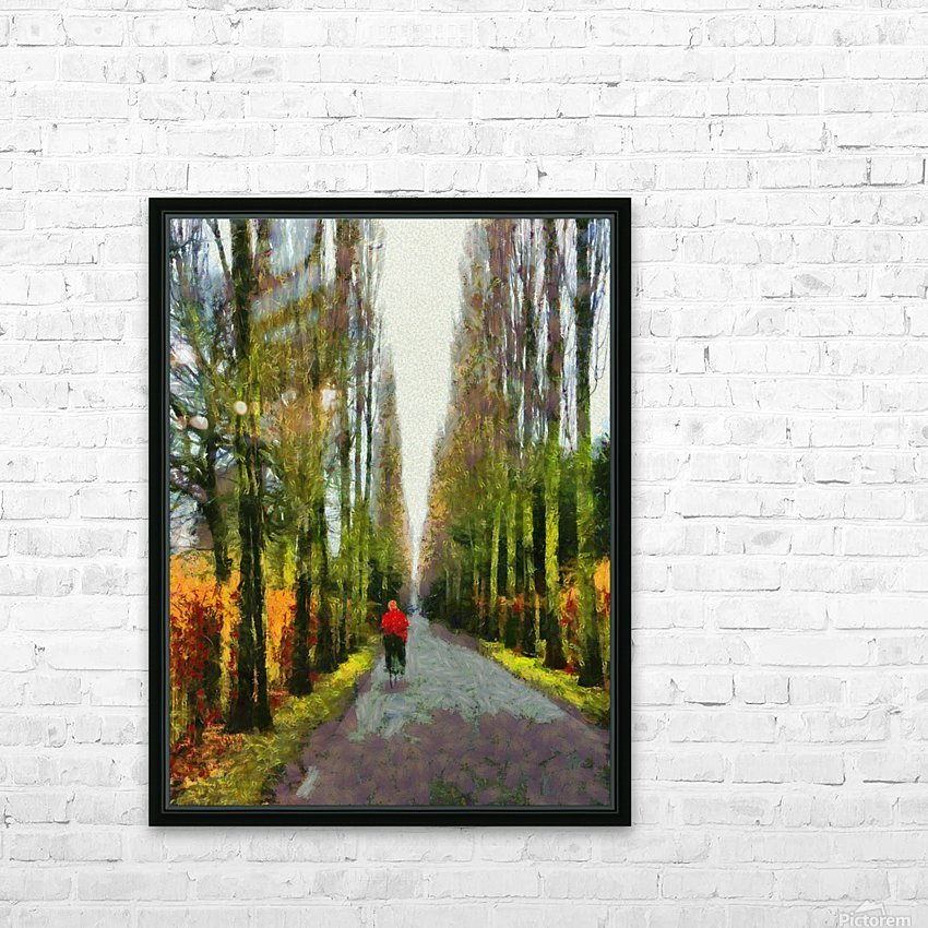 Cemetry Road HD Sublimation Metal print with Decorating Float Frame (BOX)