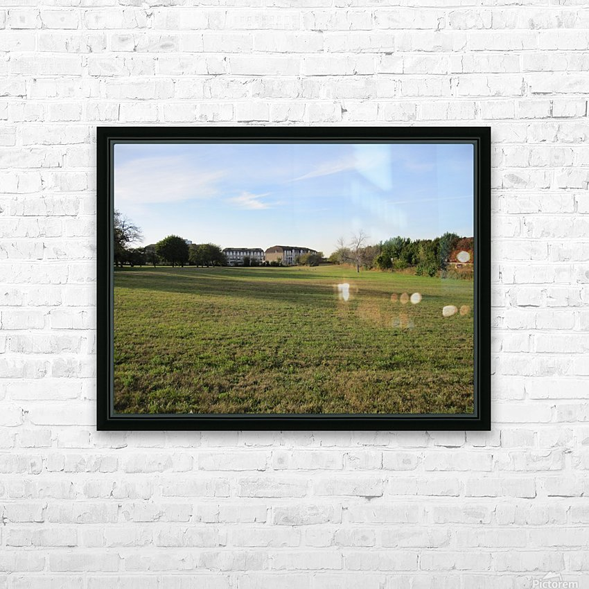 Landscape Photograph (56) HD Sublimation Metal print with Decorating Float Frame (BOX)