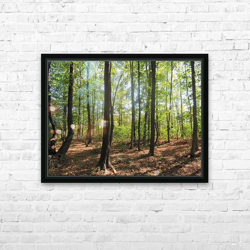 Landscape (51) HD Sublimation Metal print with Decorating Float Frame (BOX)