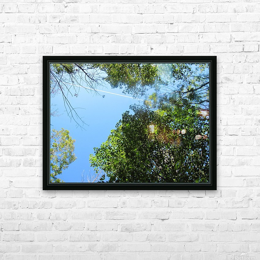 Landscape (200) HD Sublimation Metal print with Decorating Float Frame (BOX)