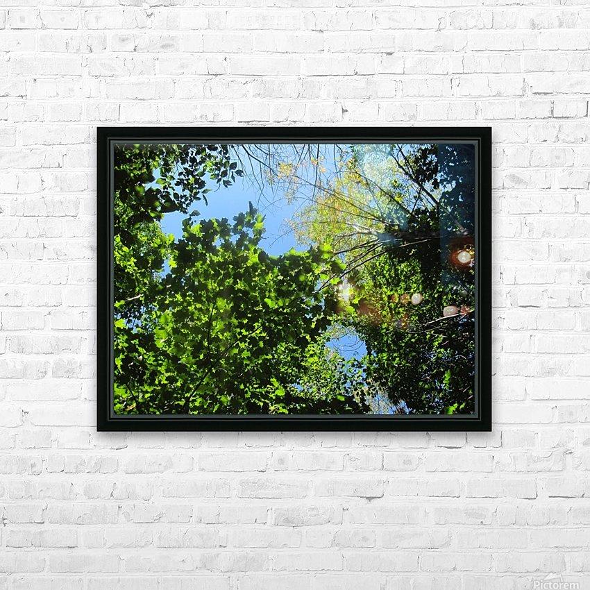 Landscape (181) HD Sublimation Metal print with Decorating Float Frame (BOX)
