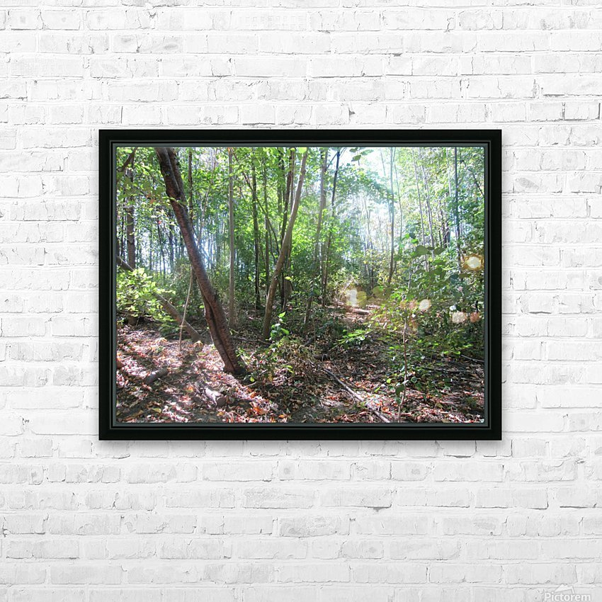 Landscape (184) HD Sublimation Metal print with Decorating Float Frame (BOX)