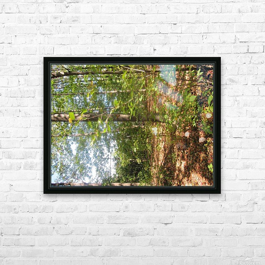 Landscape (105) HD Sublimation Metal print with Decorating Float Frame (BOX)