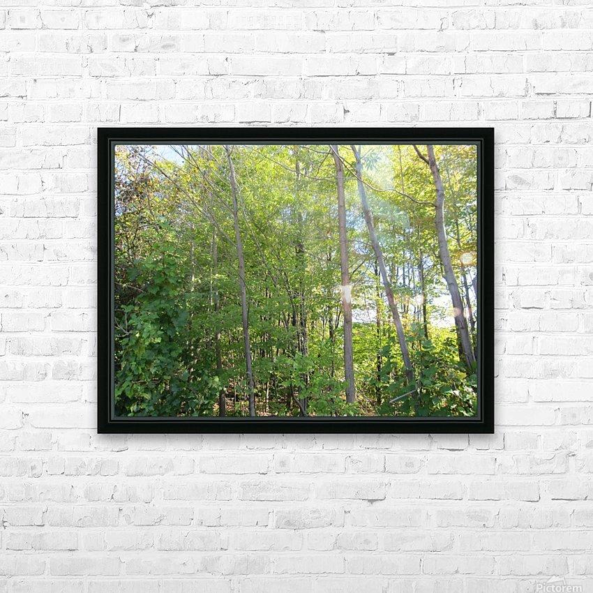 Landscape (288) HD Sublimation Metal print with Decorating Float Frame (BOX)