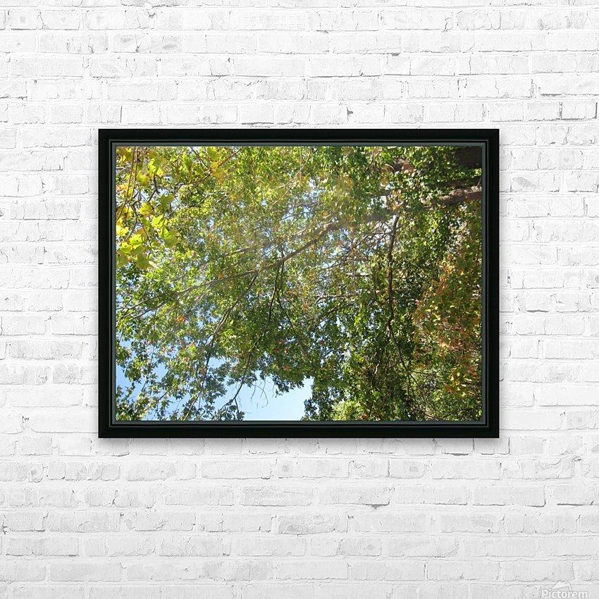 Landscape (302) HD Sublimation Metal print with Decorating Float Frame (BOX)
