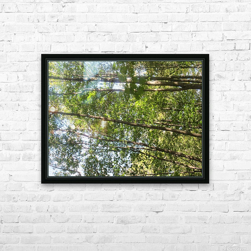 Landscape (257) HD Sublimation Metal print with Decorating Float Frame (BOX)