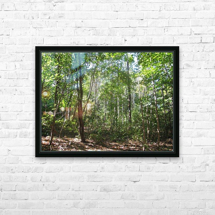 Landscape (176) HD Sublimation Metal print with Decorating Float Frame (BOX)