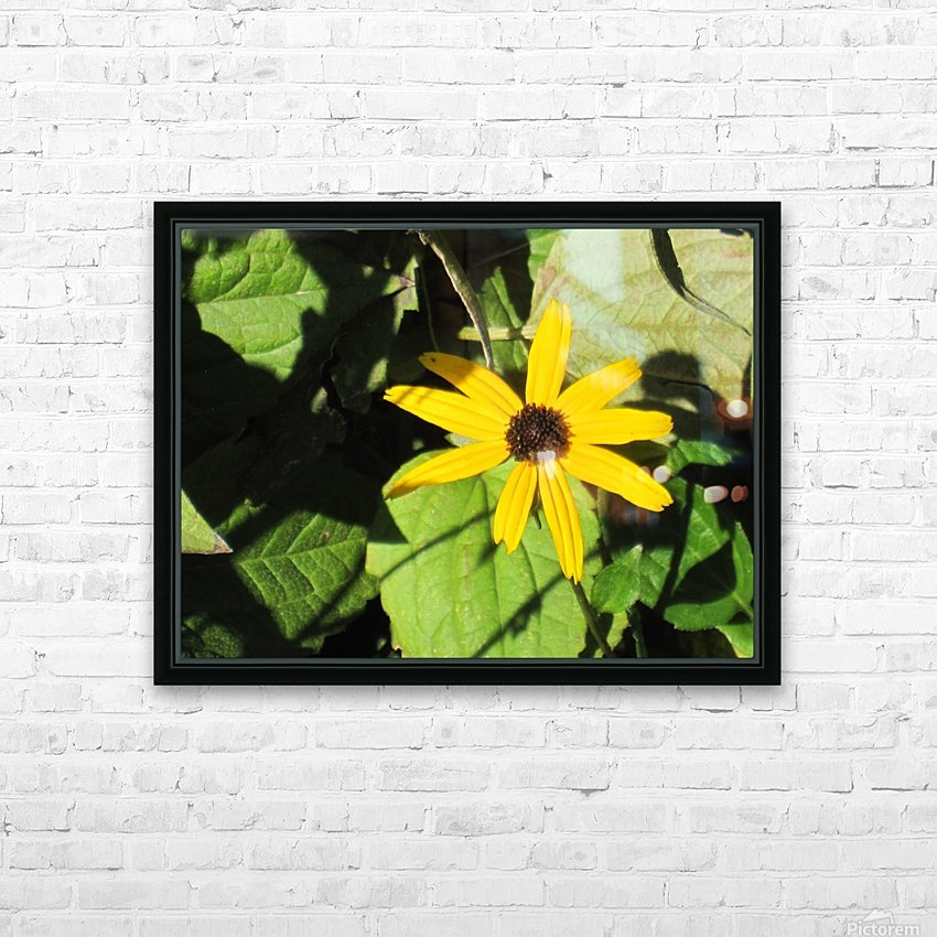 Flowers (62) HD Sublimation Metal print with Decorating Float Frame (BOX)