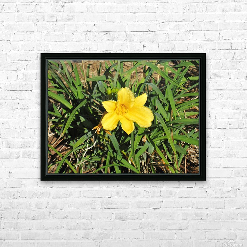 Flowers (35) HD Sublimation Metal print with Decorating Float Frame (BOX)