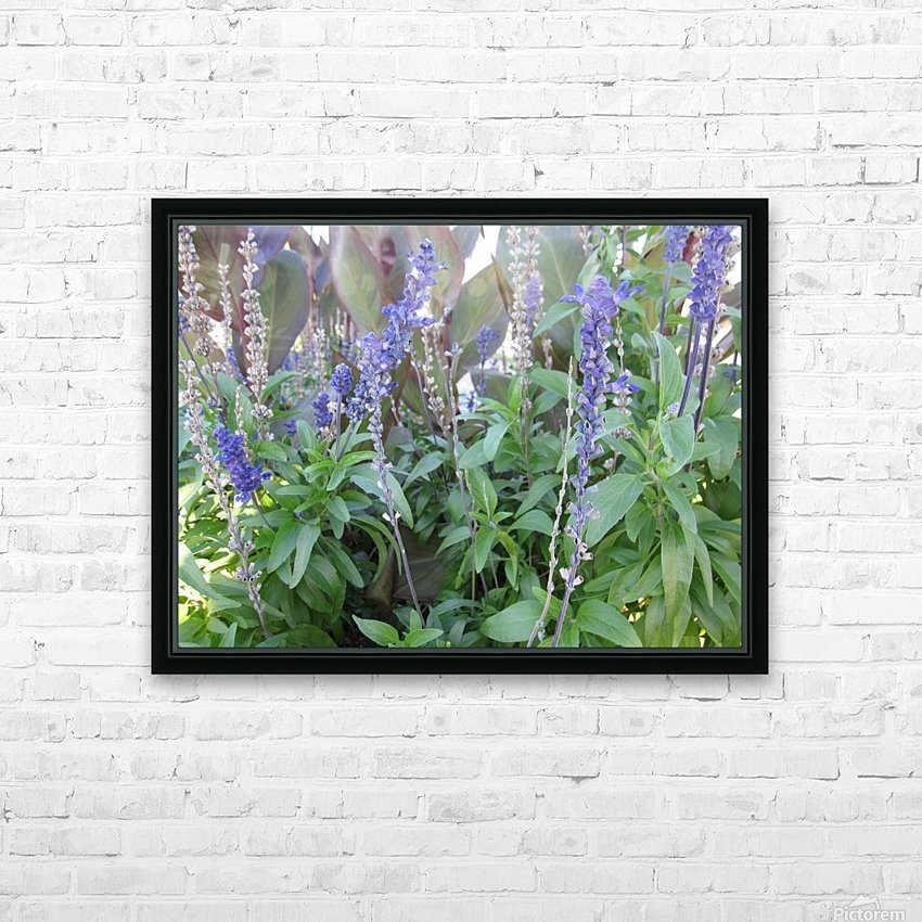 Flowers (49) HD Sublimation Metal print with Decorating Float Frame (BOX)