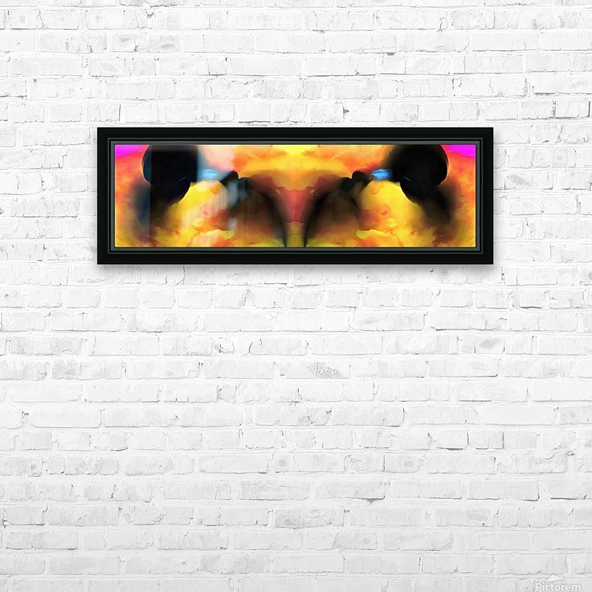 Birth Concept HD Sublimation Metal print with Decorating Float Frame (BOX)
