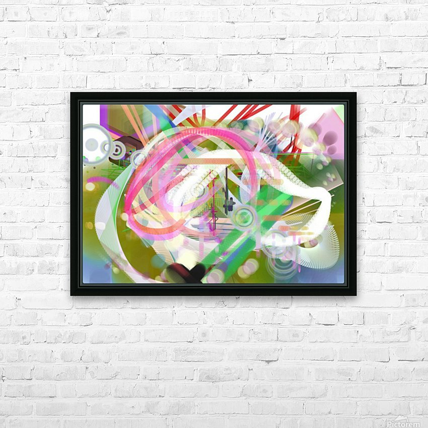 New Popular Beautiful Patterns Cool Design Best Abstract Art (3) HD Sublimation Metal print with Decorating Float Frame (BOX)