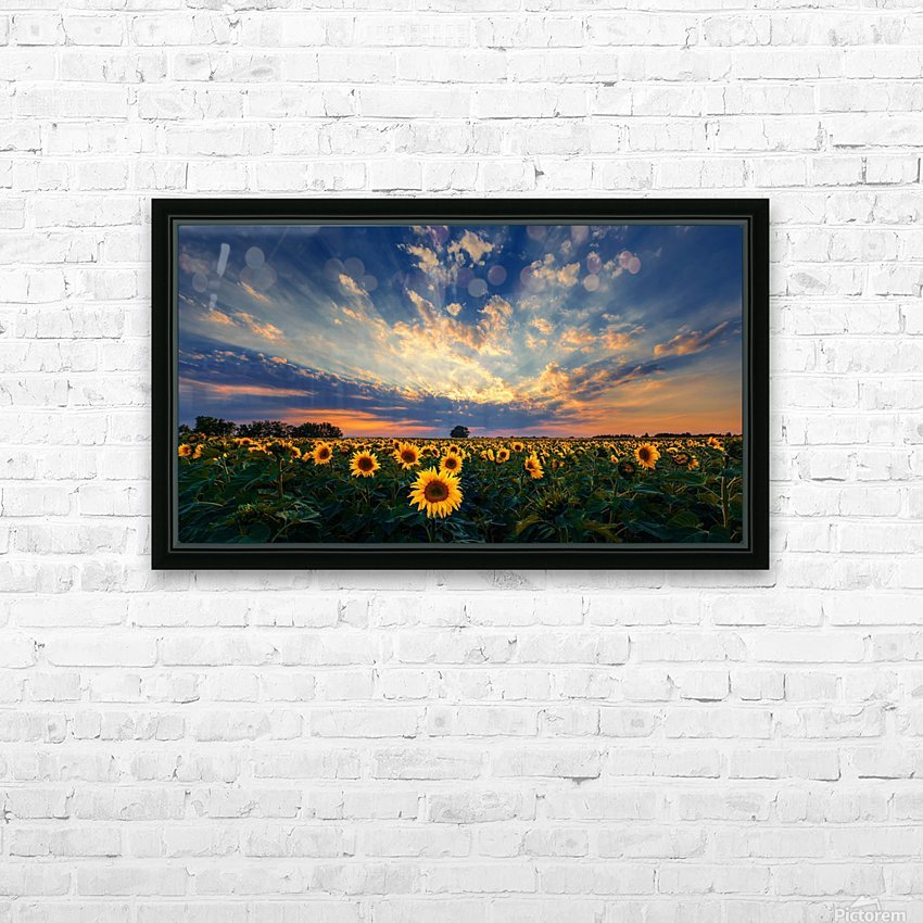 Hungarian skies CXCVIII. HD Sublimation Metal print with Decorating Float Frame (BOX)