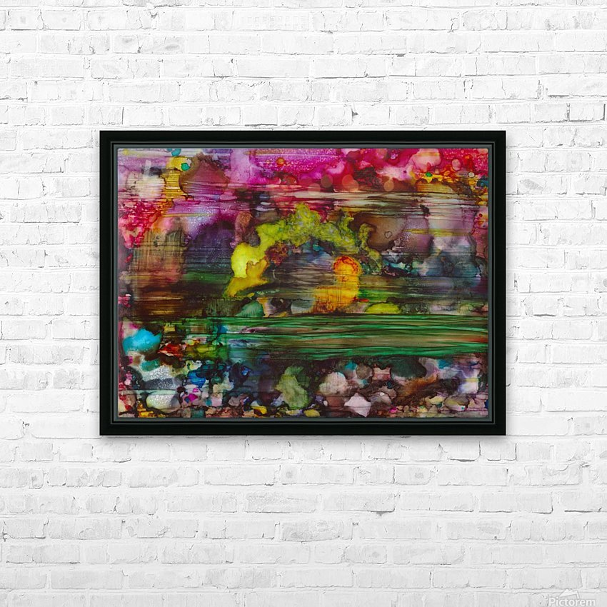 Chaos HD Sublimation Metal print with Decorating Float Frame (BOX)