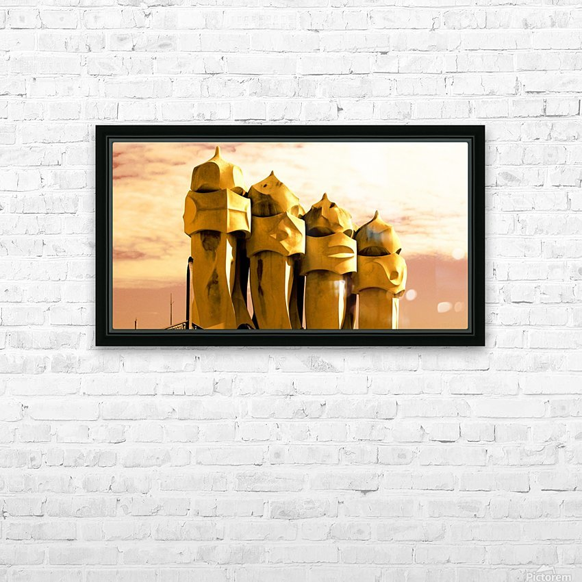 The Soldiers HD Sublimation Metal print with Decorating Float Frame (BOX)