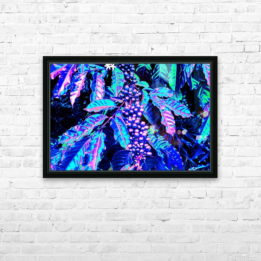 Coffee Berries HD Sublimation Metal print with Decorating Float Frame (BOX)