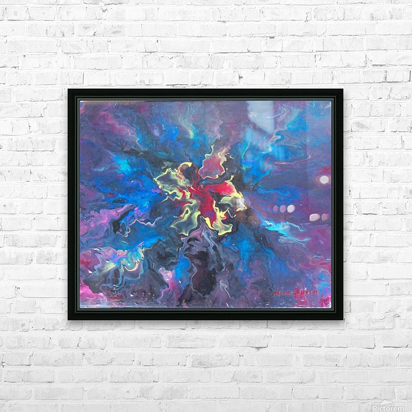 Embryo HD Sublimation Metal print with Decorating Float Frame (BOX)