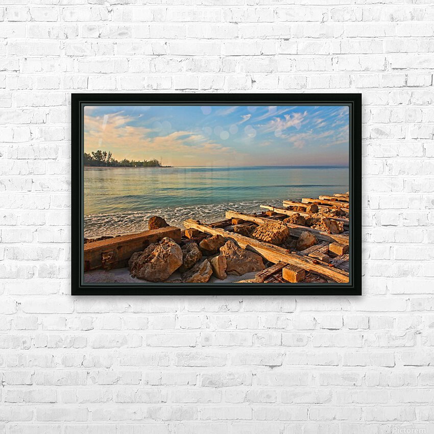 A New Beginning HD Sublimation Metal print with Decorating Float Frame (BOX)