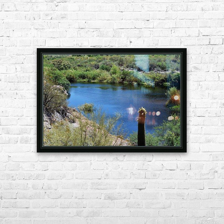 Salt River HD Sublimation Metal print with Decorating Float Frame (BOX)