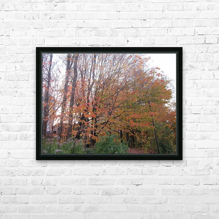 Fall Season (11) HD Sublimation Metal print with Decorating Float Frame (BOX)