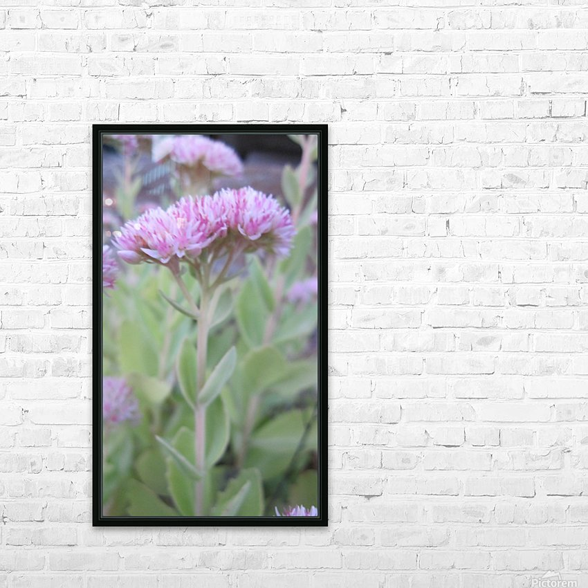 Flower (43) HD Sublimation Metal print with Decorating Float Frame (BOX)