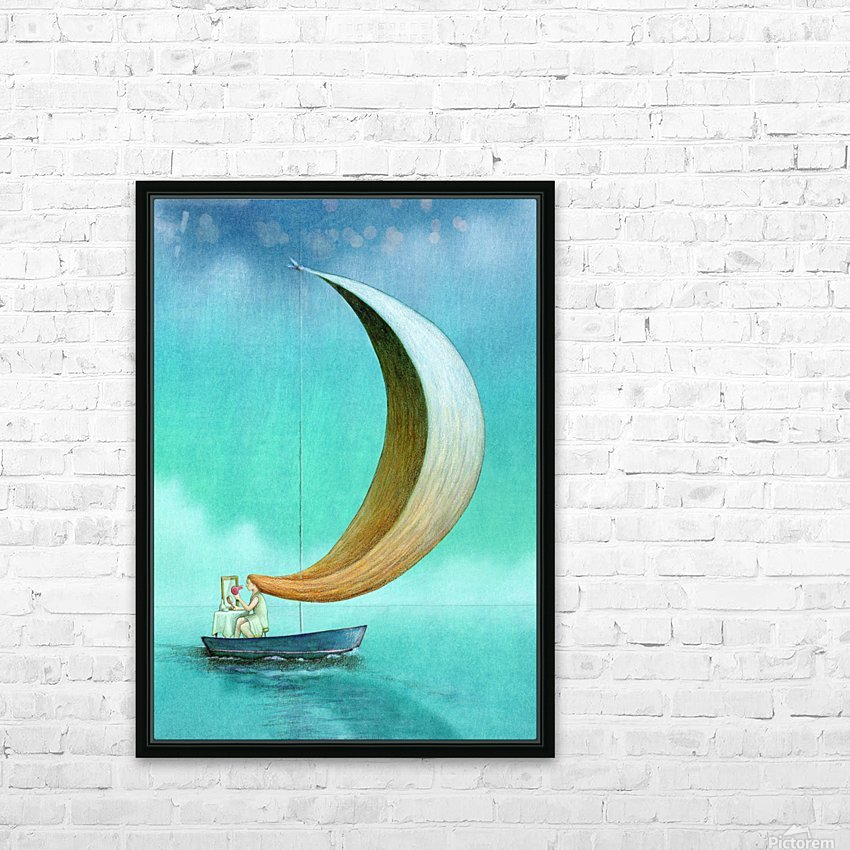 wind HD Sublimation Metal print with Decorating Float Frame (BOX)
