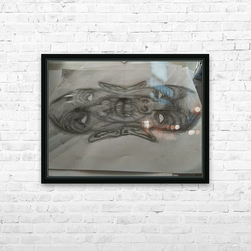 2faced HD Sublimation Metal print with Decorating Float Frame (BOX)
