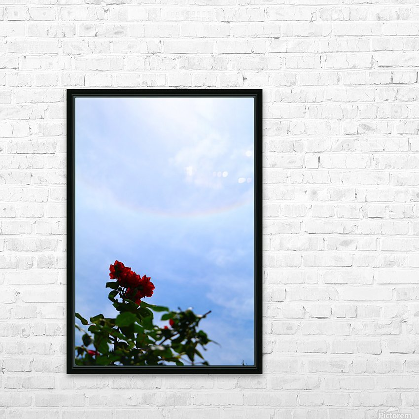 Blooming HD Sublimation Metal print with Decorating Float Frame (BOX)