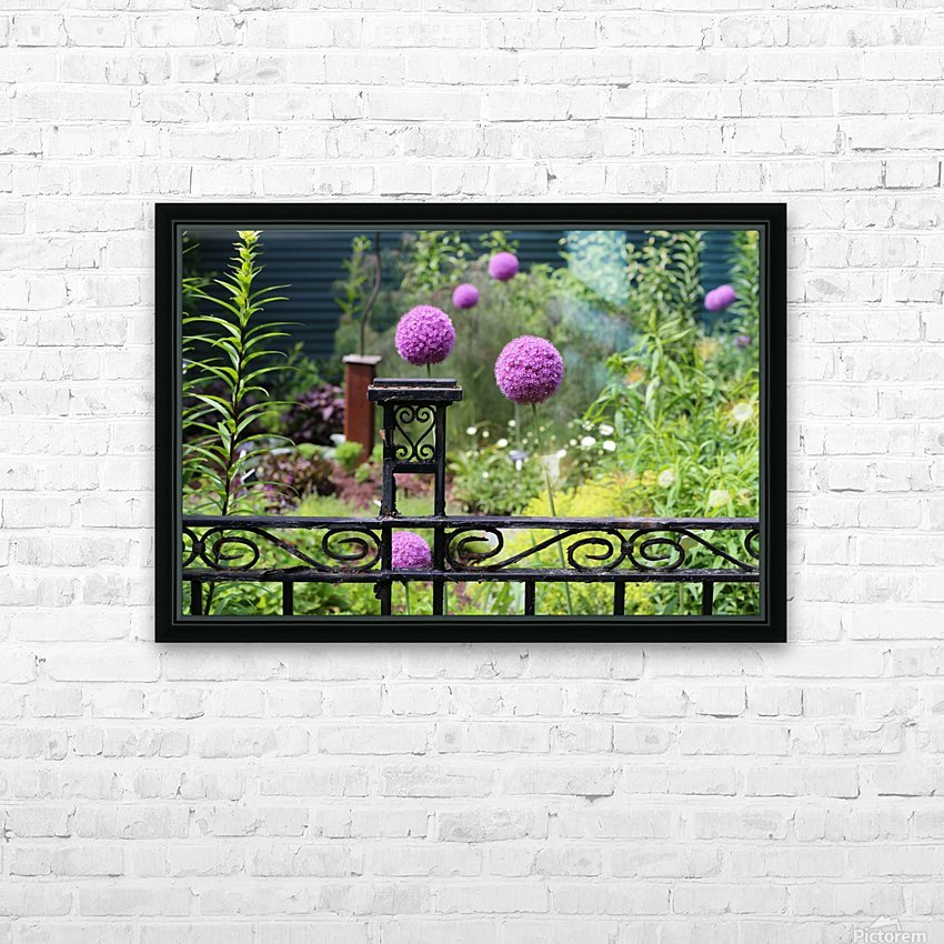 In the Garden 2018 HD Sublimation Metal print with Decorating Float Frame (BOX)