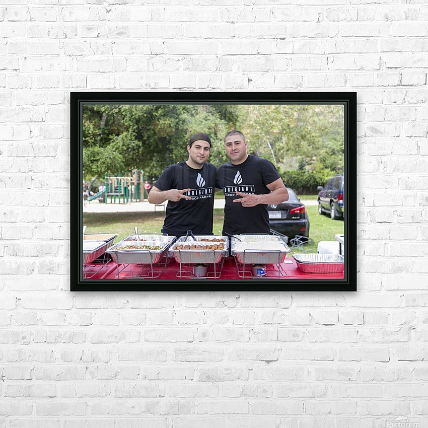 IMG_1614 HD Sublimation Metal print with Decorating Float Frame (BOX)
