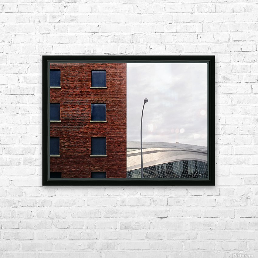 Memory is Composition... HD Sublimation Metal print with Decorating Float Frame (BOX)