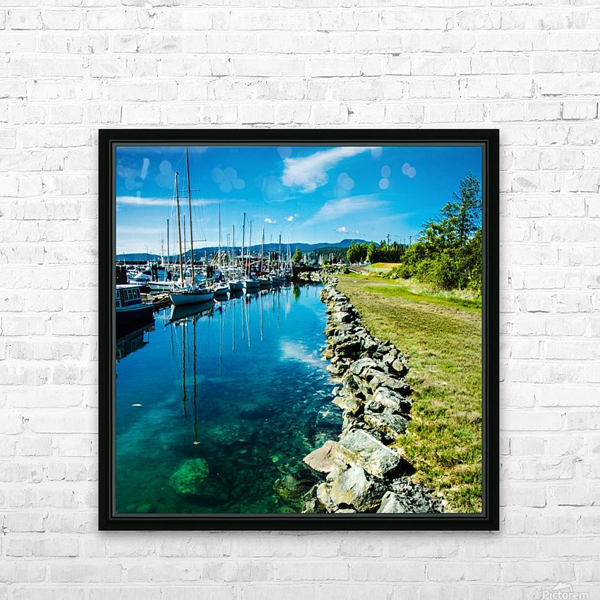 Lund  HD Sublimation Metal print with Decorating Float Frame (BOX)