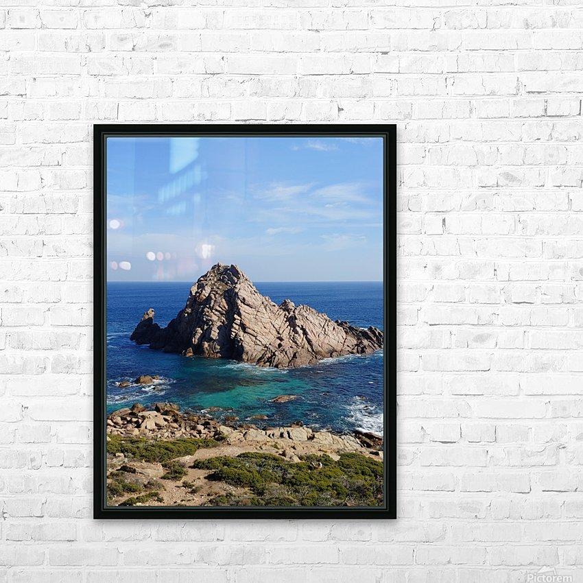 Sugarloaf Rock HD Sublimation Metal print with Decorating Float Frame (BOX)