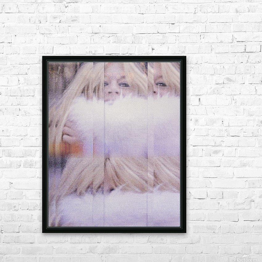 Brigitte HD Sublimation Metal print with Decorating Float Frame (BOX)