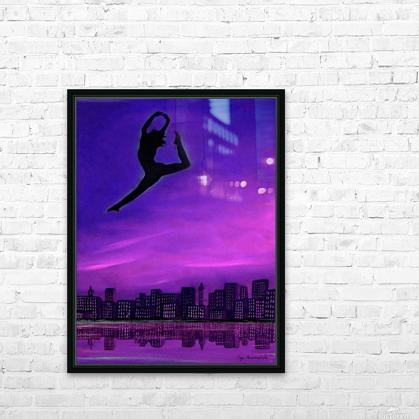 No Limit HD Sublimation Metal print with Decorating Float Frame (BOX)