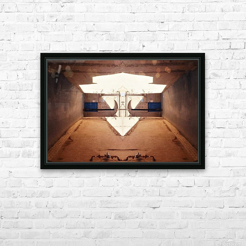 Hijaz  HD Sublimation Metal print with Decorating Float Frame (BOX)