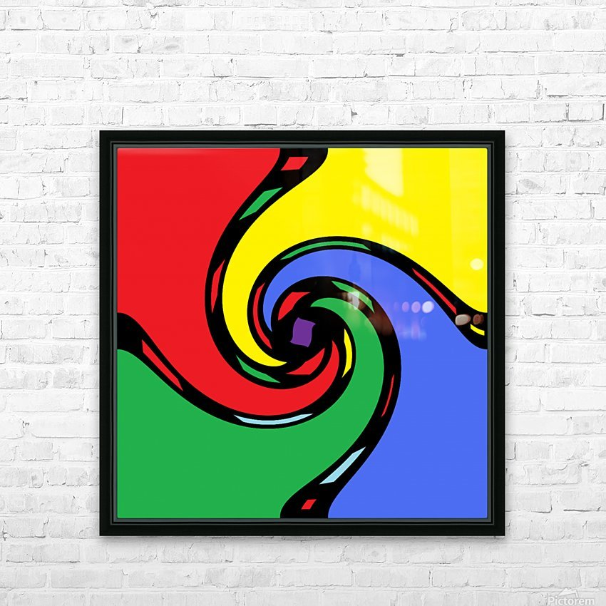 Abstract Art (16)_1559312422.6411 HD Sublimation Metal print with Decorating Float Frame (BOX)