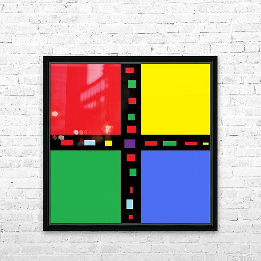 Abstract Art (3)_1559312395.5198 HD Sublimation Metal print with Decorating Float Frame (BOX)