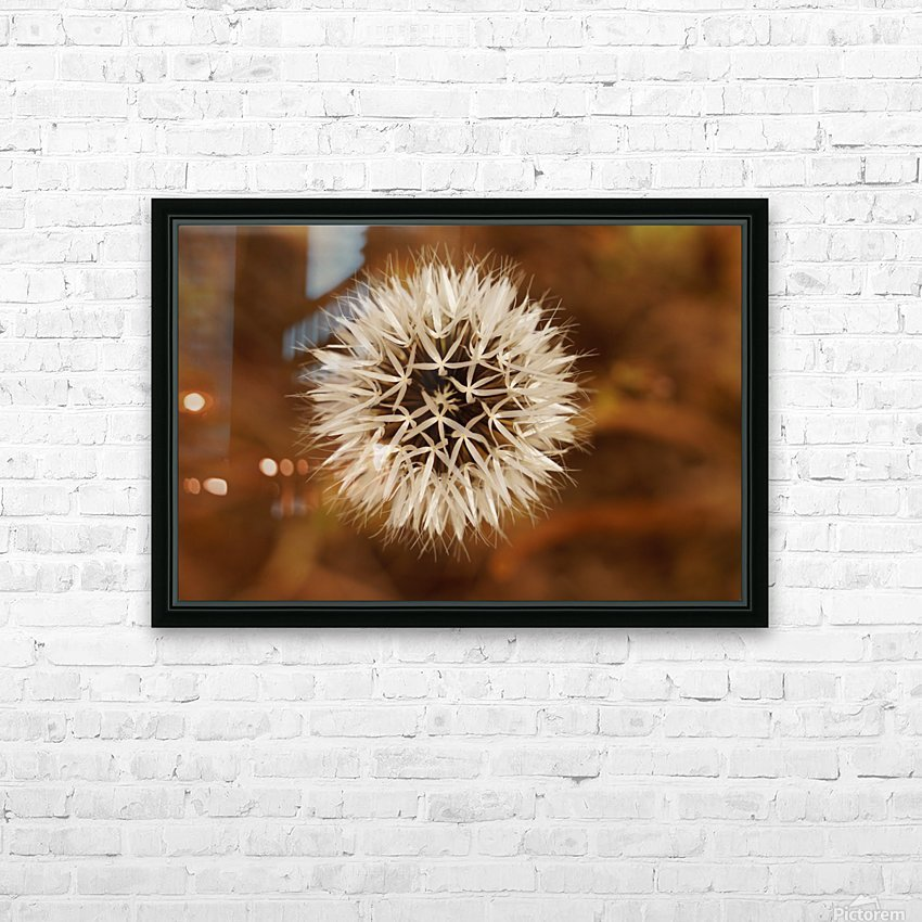 Silver Puff HD Sublimation Metal print with Decorating Float Frame (BOX)