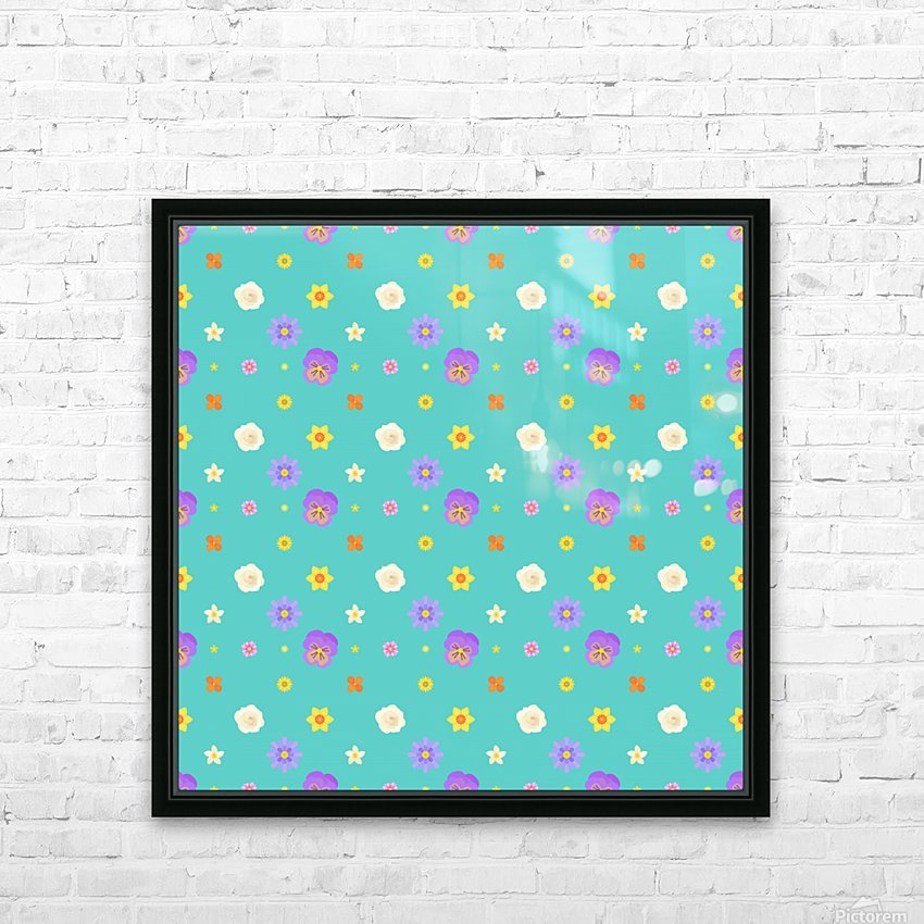 flowers, patterns, pattern, cute, nice, beautiful, bright, colorful, lovely, sexy, vibrant, summer, color, colors, hot, garden, pretty, attractive, amazing, petals, springtime, flora, n (3) HD Sublimation Metal print with Decorating Float Frame (BOX)