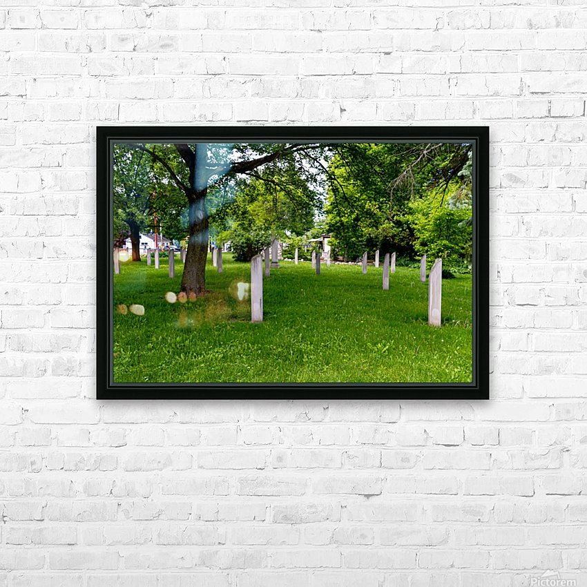 Civil War Memorial 11 HD Sublimation Metal print with Decorating Float Frame (BOX)
