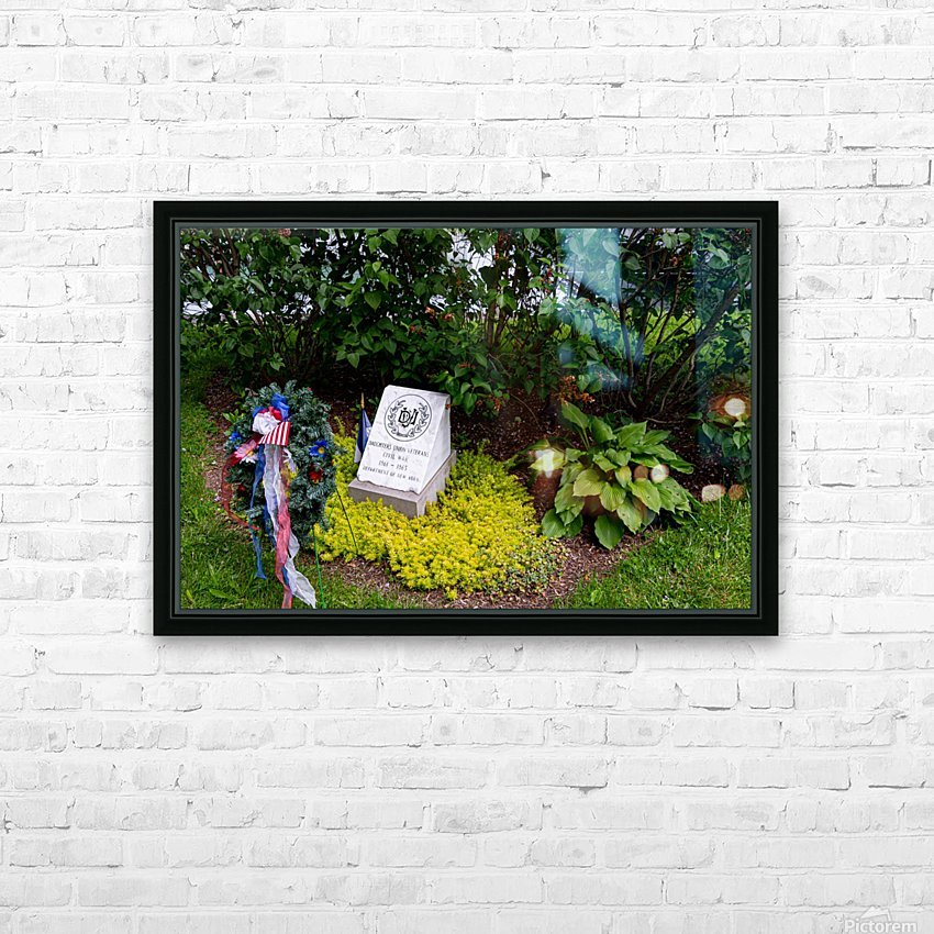 Civil War Memorial 10 HD Sublimation Metal print with Decorating Float Frame (BOX)