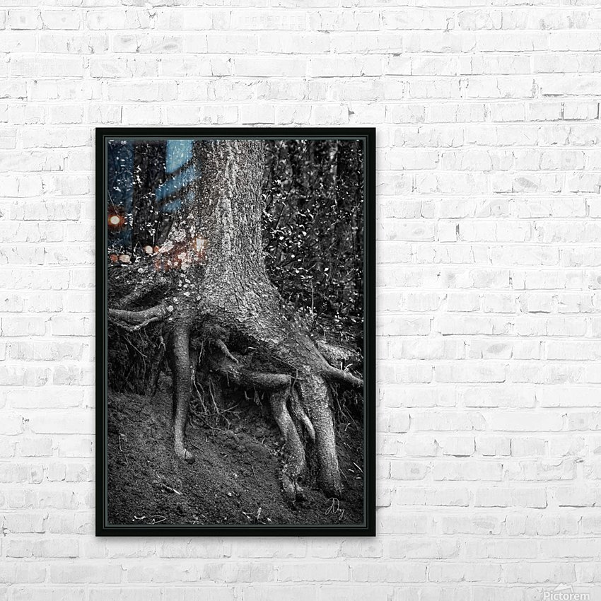 Roots... HD Sublimation Metal print with Decorating Float Frame (BOX)