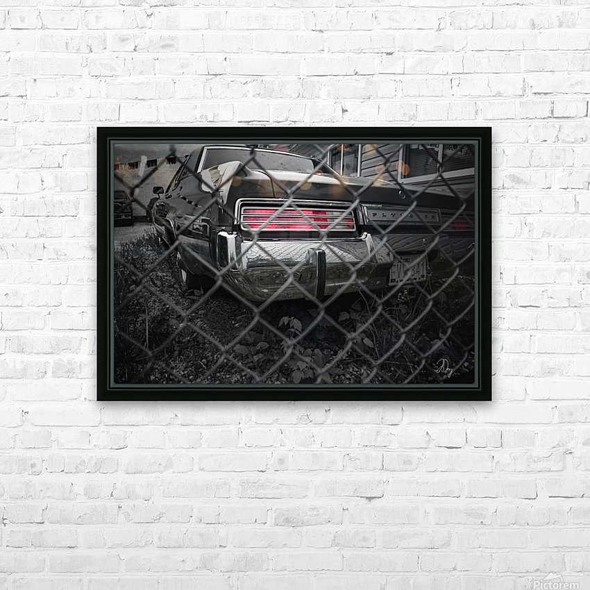 Used Cars... HD Sublimation Metal print with Decorating Float Frame (BOX)