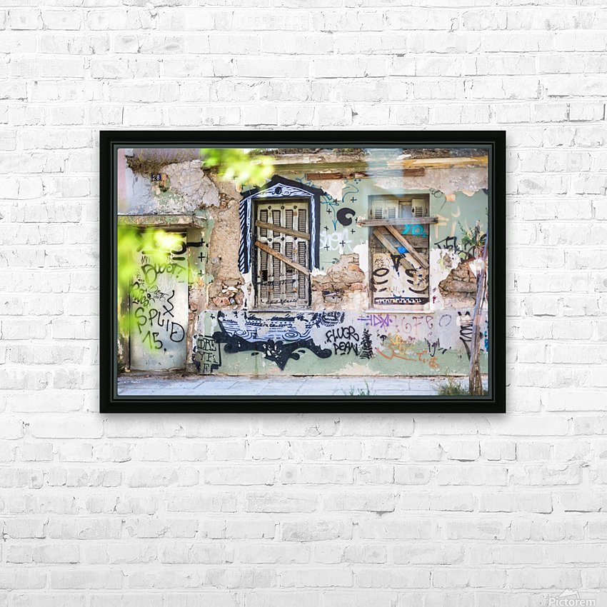 Doors & Windows 3 HD Sublimation Metal print with Decorating Float Frame (BOX)