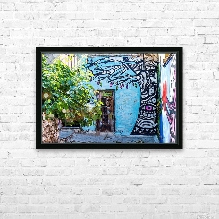 Doors & Windows 4 HD Sublimation Metal print with Decorating Float Frame (BOX)