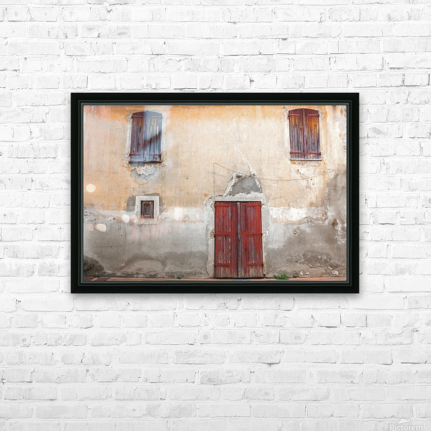 Corsica 12 HD Sublimation Metal print with Decorating Float Frame (BOX)